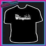 THE WINGMAN TSHIRT MENS WOMENS KIDS SIZES